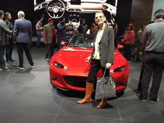 sharon rosenthal photo with car
